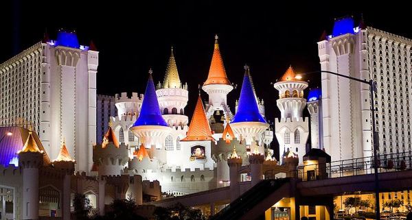 The Excalibur hotel and casino.